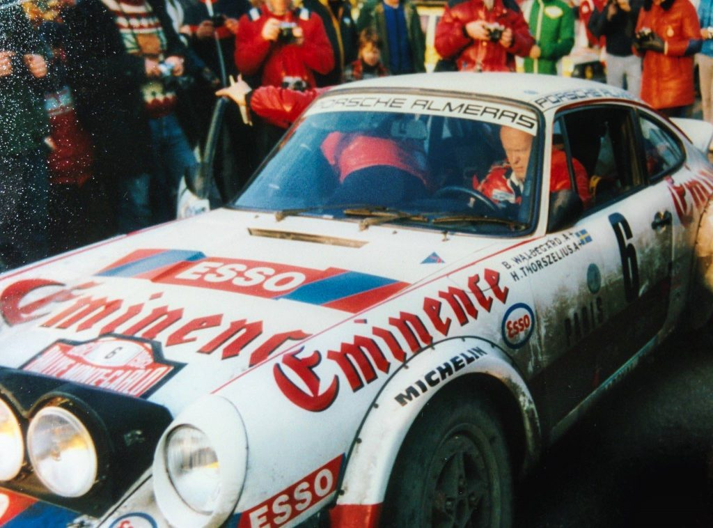 1982 Rallye Monte Carlo, Team Björn Waldegård / Hans Thorszelius