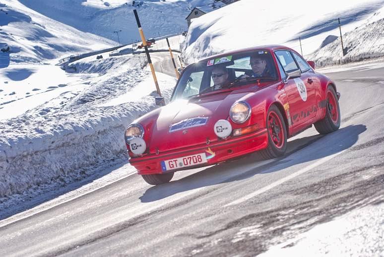 Winter Raid – Oldtimerrallye in der Schweiz