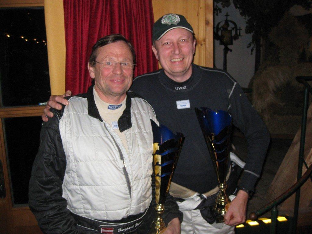 Sieger der ADAC Rallye Masters 2012 in der historischen Division
