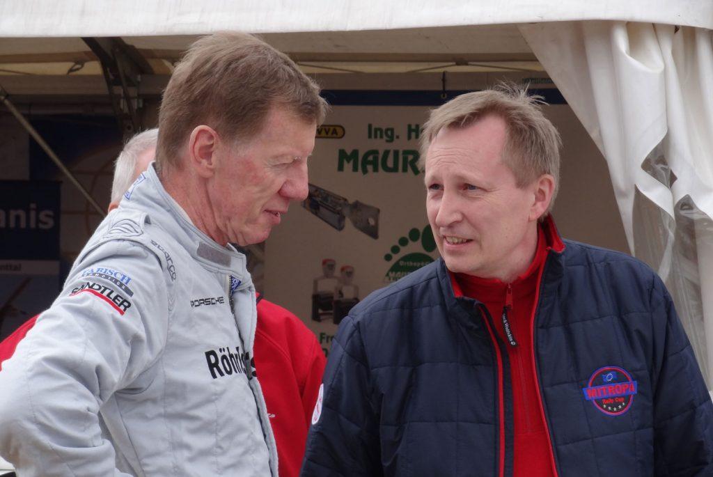 Walter Röhrl und Lothar Bökamp