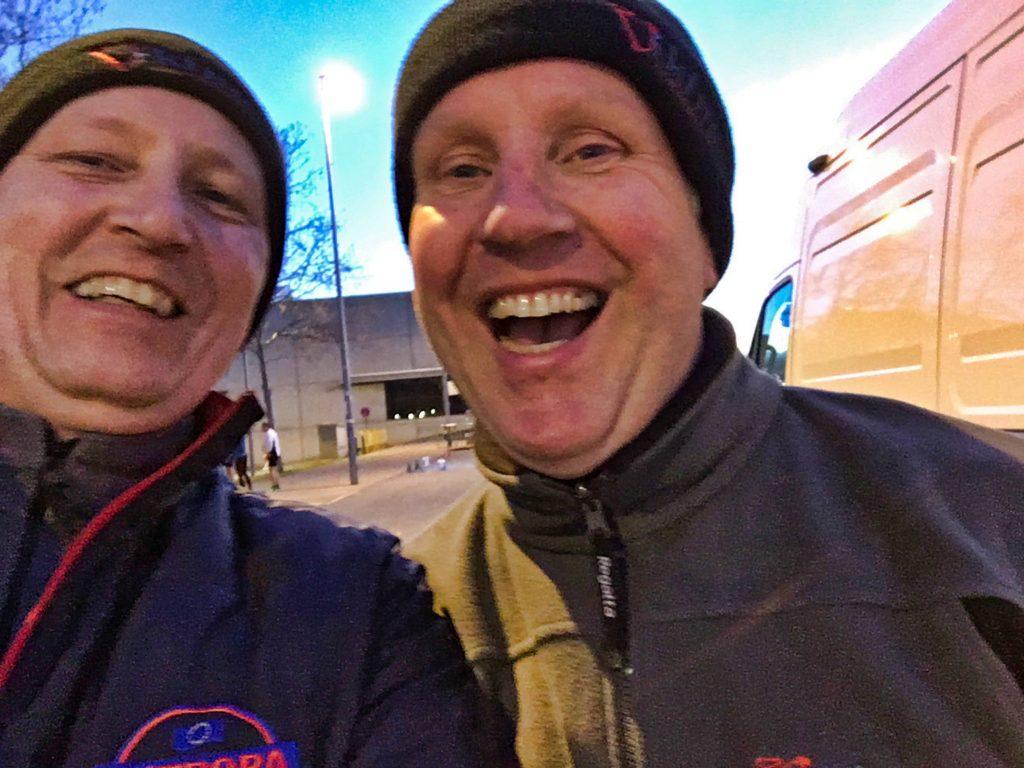 Phil Mills und Lothar Bökamp