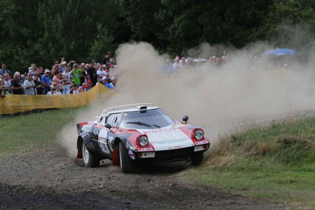 Mit dem Lancia Stratos beim Eifel-Rallye-Festival.