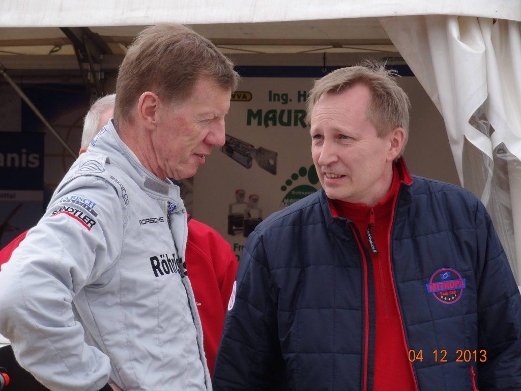 Walter Röhrl im Gespräch mit Lothar Bökamp