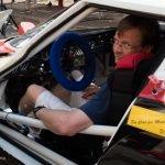 Burghard Brink mit dem Lancia Stratos, der 2012 die ADAC Rallye Masters Division 8 (historische Fahrzeuge) gewann. Hier bei der technischen Abnahme der »Rally Lana Storico«.