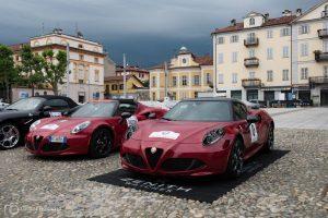 Die Fahrzeuge des Orga-Teams findet man auch nicht tagtäglich auf der Straße.