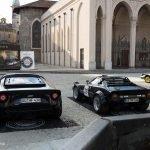 Alt trifft neu: Der »New Stratos« neben dem Lancia Stratos.