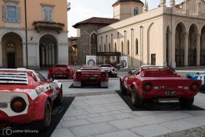 Keine Feuerwehrautos: Lancia Stratos in »Rosso«