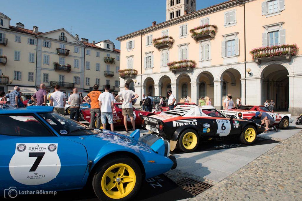 Über 40 Teilnehmer kamen zum World Stratos Meeting von Erik Comas ins italienische Biella.